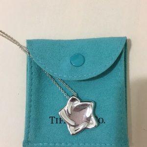 Tiffany & Co. silver necklace, star pendant